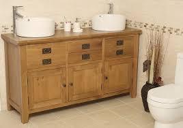 Valencia Bathroom Furniture 50 Traditional Oak Vanity Unit With Basin Bathroom