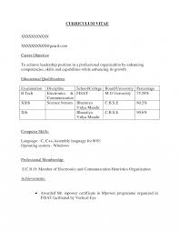 sle resume for freshers b tech mechanical free download sle careerjective for freshers computer science fresher sle
