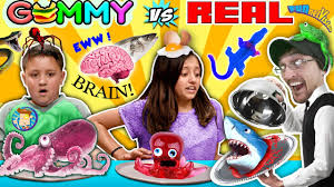 Wildfire Chords Marianas by Gummy Food Vs Real Food Challenge Shark Roaches Snake