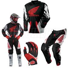 fox motocross apparel rockstar super mx shift strike red shift motocross gear combo