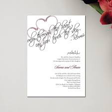 sle indian wedding invitations indian wedding invitations rectangle rumi hearts by