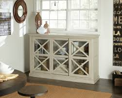 Living Room Console Table Furniture Cool White Sofa With Wooden Console Table By Hammary