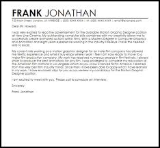 graphic design cover letter sample graphic design cover letter
