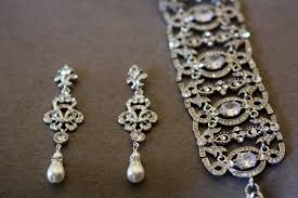and pearl chandelier earrings swarovski bridal earrings pearl chandelier with regard to