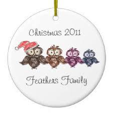 owls ornaments keepsake ornaments zazzle