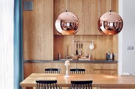 cuivre cuisine cuisines suspensions cuivre tendance cuisine 2017 les