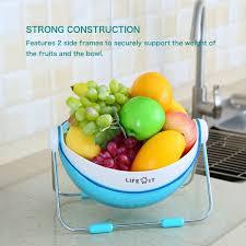 Fruit Bowl Lifewit 360 Rotatable Lid Fruit Washing Bowl Lifewitstore