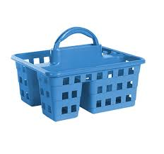 Bathroom Caddy For College by Bulk Divided 3 Compartment Plastic Caddies At Dollartree Com