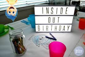disney bathroom ideas disney inside out party ideas loulou jones party event