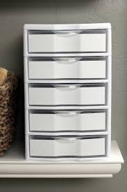 Bathroom Storage Solutions Cheap by Pretty Simple One Cool Makeup Organizers Pinterest Contact