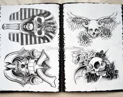 2018 fish flash book a4 size skull flash