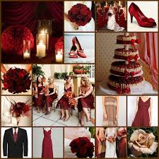 tbdress blog red wedding theme looks romantic and lovely
