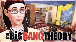 amy u0027s apartment decorate the sims 4 city living the big bang