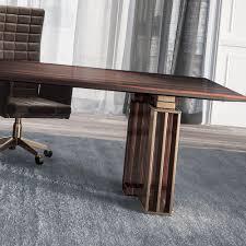 Italian Executive Office Furniture Large High End Italian Ebony Executive Desk Juliettes Interiors