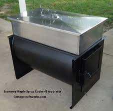 Backyard Maple Syrup by Budget Friendly Small Hobby Maple Syrup Wood Fired Cookers Evaporators