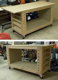 5 Workbench Ideas For A Small Workshop Workbench Plans Portable by 25 Unique Mobile Workbench Ideas On Pinterest Woodworking Shop