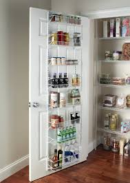 Kitchen Pantry Storage Ideas by Amazon Com Closetmaid Adjustable 8 Tier Wall And Door Rack 18