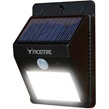 Motion Activated Cordless Light Outdoor Frostfire Bright Led Wireless Solar Powered Motion