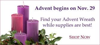advent wreath candles updates from the catholic company