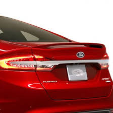2013 ford fusion spoiler 2013 ford fusion spoilers custom factory lip wing spoilers