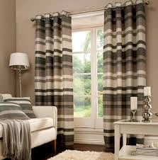Blue Striped Curtains Grey And White Striped Curtains Alston Ivorygrey Striped Curtains