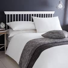 serene ashlea waffle duvet cover sets white