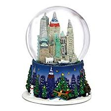 3 5 inch new york city snow globe and