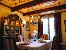 Cool Dining Room Dining Room Spanish Home Design Ideas