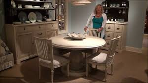 5 piece paula deen river house round pedestal dining room set