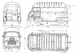 renault estafette 1967 blueprint download free blueprint for 3d