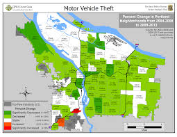 Portland Crime Map Portland State Criminal Justice Policy Research Institute