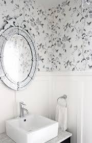 Bathroom With Wainscoting Ideas Bathroom Wallpaper Ideas For Bathroom 22 Wallpaper Ideas For