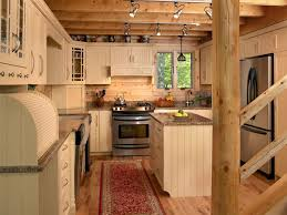 Maine Kitchen Cabinets Sebec 03180 Katahdin Cedar Log Homes