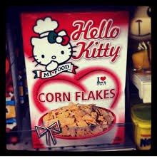Corn Flakes Meme - kitty ood made in italy corn flakes italy meme on me me