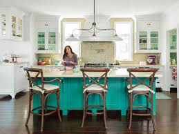 Turquoise Kitchen Island by Awesome Beachy Brights Kitchen Come With Rectangle Shape Blue