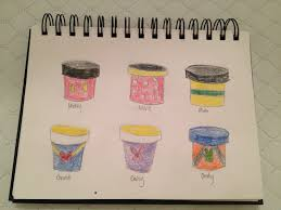my disney life diy project painted flowerpots