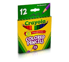 Bring Color And Style In Crayola Colored Pencils Shop Colored Pencils Crayola