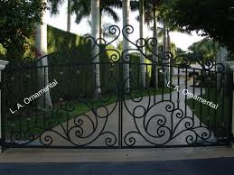 automatic driveway gates automatic aluminum wrought iron driveway gate
