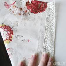 Making Kitchen Curtains by Sew Easy Cafe Curtains The Diy Mommy