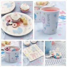 baby shower tableware baby shower decorations party decorations