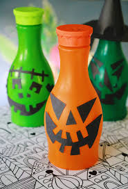upcycled halloween lanterns aunt peaches