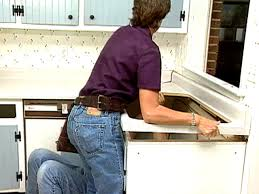 How To Install A Laminate Kitchen Countertop - how to install laminate kitchen countertops video hgtv
