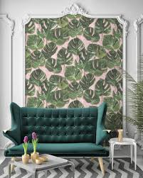 Home Interior Wallpaper How To Get This Season U0027s Bohemian Chic Look At Home
