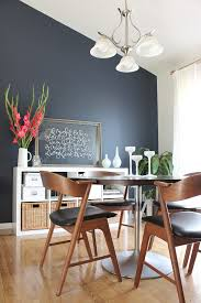 dining room makeover navy accent walls hale navy and benjamin