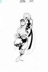 ed mcguinness heroclix superman drawing wallace harrington u0027s