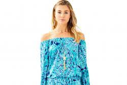 lilly pulitzer print supports sea turtle hospital at loggerhead