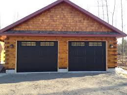 Overhead Door Coupon by Door Exciting Black Haas Garage Doors With Wood Siding And Pea