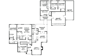 apartment house plans with in law floor plan attached garage home