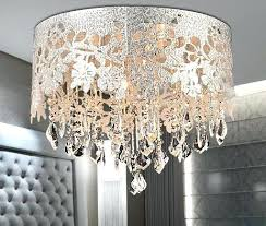 Drum Shade Chandelier Lighting Shade Chandelier With Crystals U2013 Eimat Co