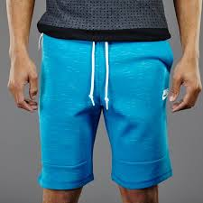 light blue nike shorts mens clothing nike sportswear tech fleece shorts 1mm light blue